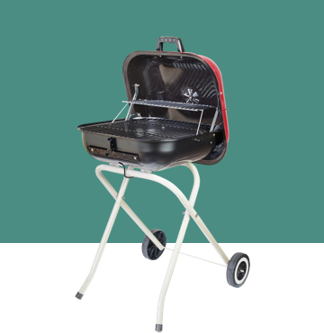Outdoor appliance- mobile barbecue machine